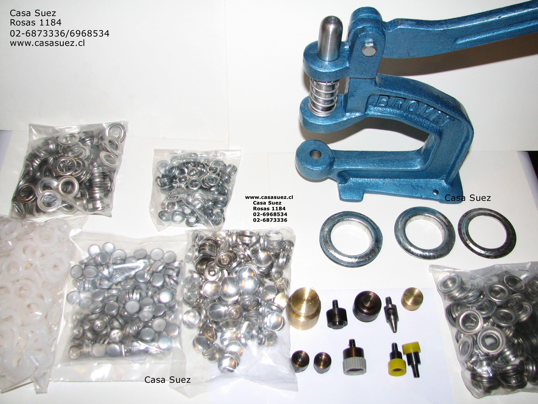Cortinas De Baño Bordadas A Maquina:Maquina multiple y matrices para ojetillos de cortina plasticos y